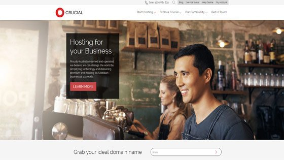 Crucial business website hosting Australia