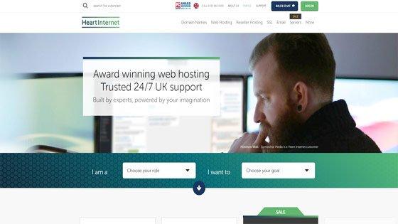 Heart Internet - good for reseller hosting